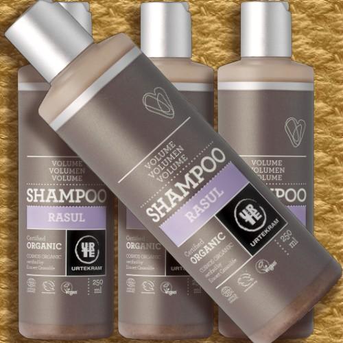 keinplunder naturkosmetik urtekram shampoo rasul f r. Black Bedroom Furniture Sets. Home Design Ideas